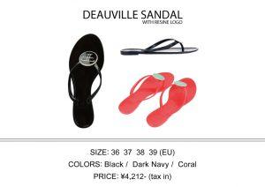 DEAUVILLE SANDAL