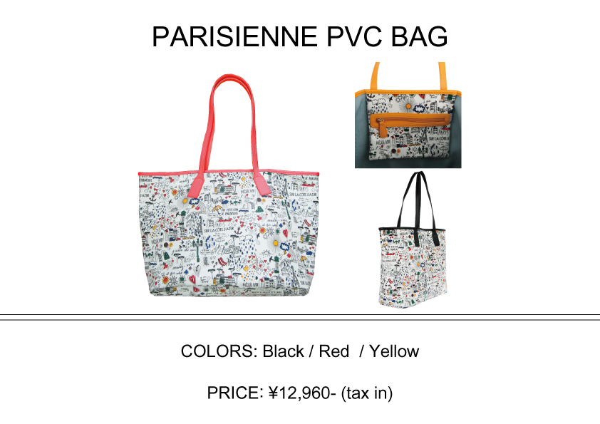 PARISIENNE PVC BAG